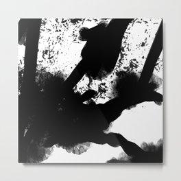 Black and White 2 Metal Print