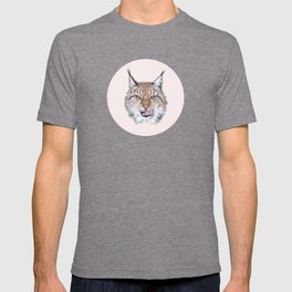 Lynx Lynx portrait T-shirt