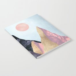 Mauve Peaks Notebook