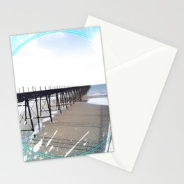 Victorian Pier - paint Stationery Cards