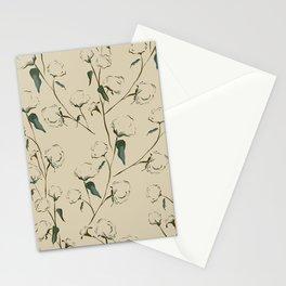 Cotton Bolls Stationery Cards