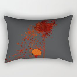 Autumn Burns Rectangular Pillow