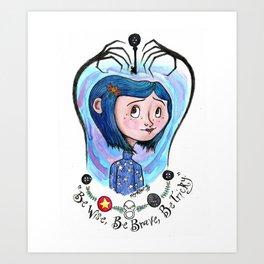 Coraline Jones Kunstdrucke