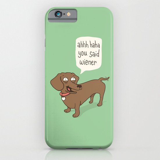 Immature Dachshund iPhone & iPod Case