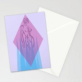 Alien lands Stationery Cards