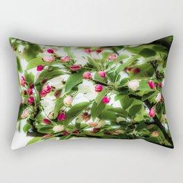 Apple Buds Rectangular Pillow