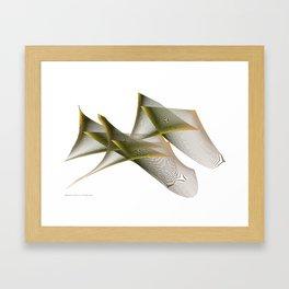 Mathematical Portrait of a Dinosaur Framed Art Print