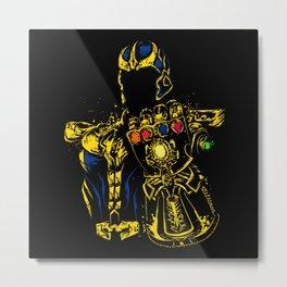 Thanos - Infinity War Metal Print