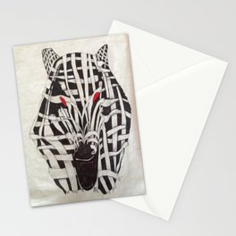 Mummy Wolf Stationery Cards