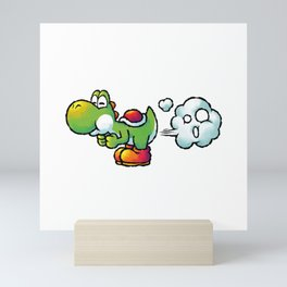 Yoshi Fart Super Mini Art Print