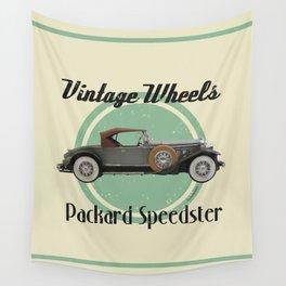 Vintage Wheels - Packard Boattail Speedster Wall Tapestry