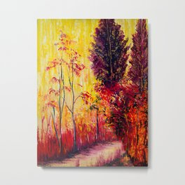 Autum Forest Metal Print