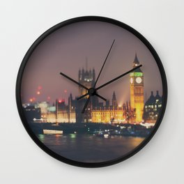 down by the thames ... Wall Clock