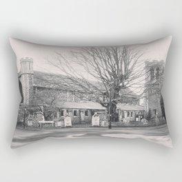All Saints Church in Ealing Rectangular Pillow
