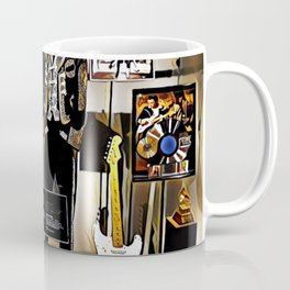 Stevie Ray Vaughan Exhibit - Family Style - Painting Coffee Mug