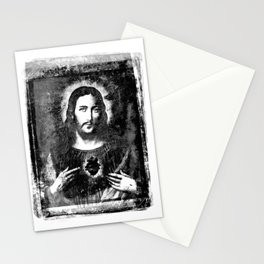 Jesus merciful Stationery Cards