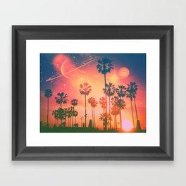 Summer Bound Framed Art Print