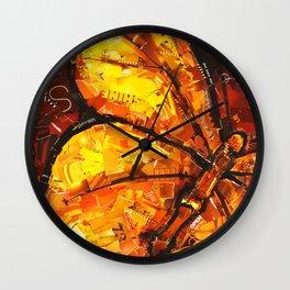 flutter butterfly Wall Clock