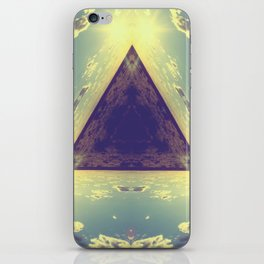 Triangles in the sky iPhone Skin