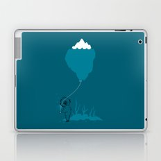 The Diver and his Balloon Laptop & iPad Skin