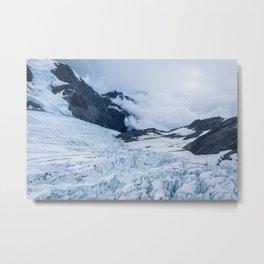 Glacier Metal Print