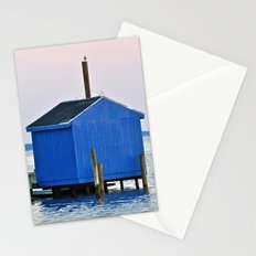 Blue Dock House Stationery Cards