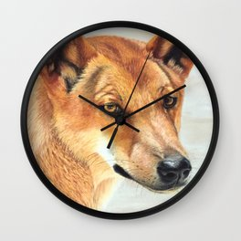 The Original Red Dog Wall Clock