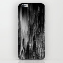 rain drop night iPhone Skin