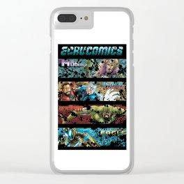 Ecru Comics Universe Title Clear iPhone Case