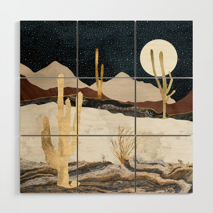 Desert View Wood Wall Art