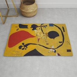 Art Dutch Interior III Joan Miro Rug