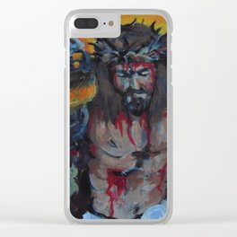 Do unto others. Clear iPhone Case