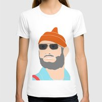 life aquatic T-shirts featuring life aquatic  by Chad spann