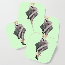 Abstract Legs Coaster