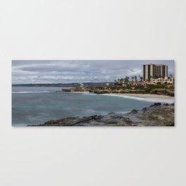 Casa and Wipeout Beaches, La Jolla, California Canvas Print