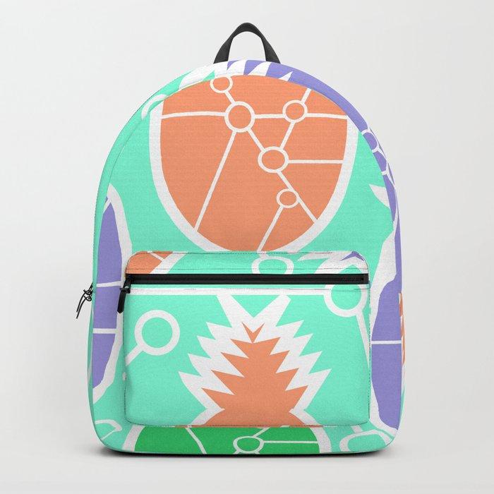 Pineapple network Backpack