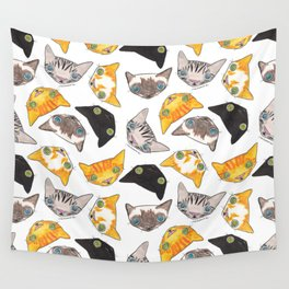 """""""Oro?"""" Cats Wall Tapestry"""