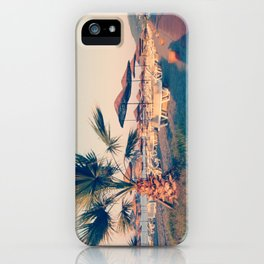 RELAXING - A Day at the Beach iPhone Case