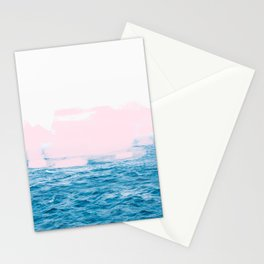 Ocean + Pink #society6 #decor #buyart Stationery Cards