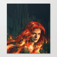 war Canvas Prints featuring War by Alice X. Zhang