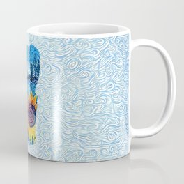 Lake Tahoe Sunflower Coffee Mug