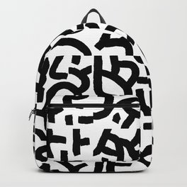 Fragments of Rhizome Paths no. 1 Backpack