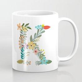 Monogram Letter K Coffee Mug