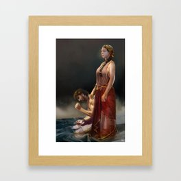 """Calypso(""""Charm of of the Ancient Enchantress"""" Series) Framed Art Print"""