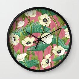 Barracuda - Spring version Wall Clock
