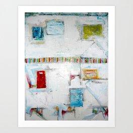 """Picket Fences"" by Simon Brushfield Art Print"