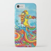 yellow submarine iPhone & iPod Cases featuring The Yellow Submarine by Nick Swann