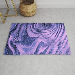 Purple Haze Melodic, Lyrical Pattern Rug