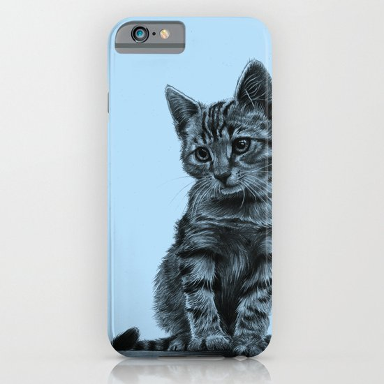 Kitty - PENCIL DRAWING iPhone & iPod Case