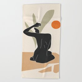 Nude Beach Towel